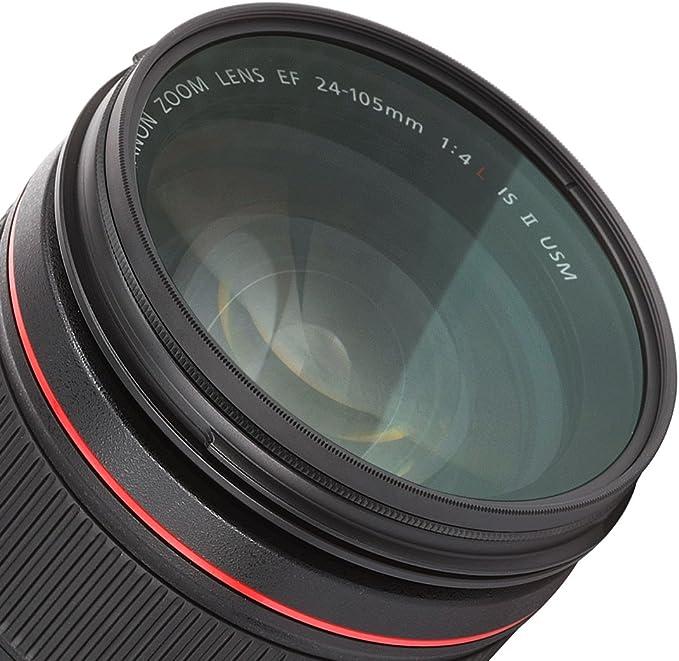 CPL Circular Polarizer Glare Shine Polarizing Filter for Canon EF 24-105mm f//4L is USM Lens