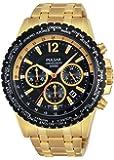 Pulsar Herren-Armbanduhr XL Sport Analog Quarz Edelstahl PT3578X1
