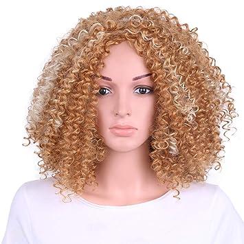 wig Peluca Femenina de la Peluca del Pelo Corto Que teñe en Peluca Llena de la