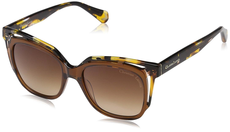 Christian Lacroix CL5072, Gafas de Sol para Mujer, Marrón (Beige Caramel), 51