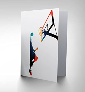 Basketball birthday card slam dunk cp018 amazon kitchen home basketball birthday card slam dunk cp018 bookmarktalkfo Image collections