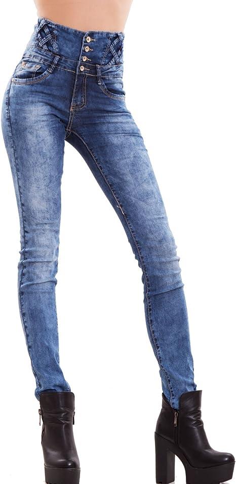 Jeans Donna Pantaloni Skinny Slim Elasticizzati Push up Aderenti Nuovi M5780 Toocool