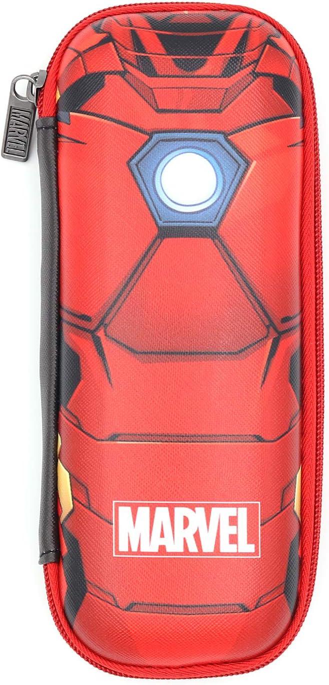 Marvel Avengers Iron Man Body EVA Pencil Case Organizer School Supplies for Boys