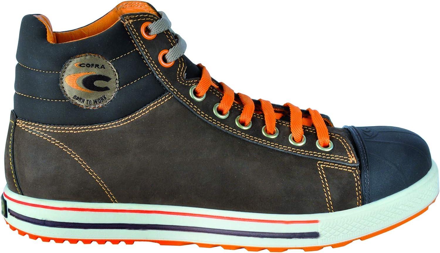 Cofra NT230-000.W38 Chaussures de s/écurit/é New Volga Uk S3 SRC Taille 38 Noir