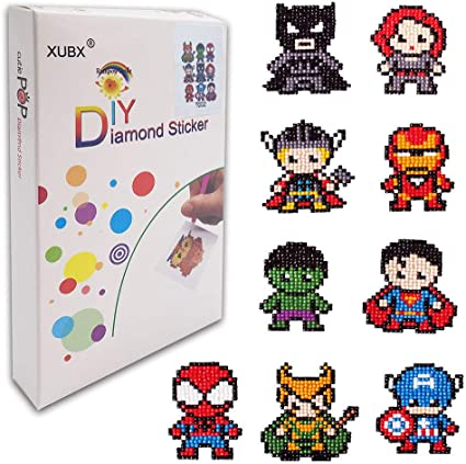 Best Gift 5D Diamond Art Painting Mosaic Stickers Kits for Kids