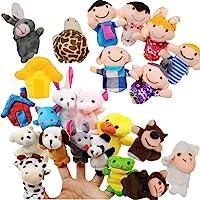 JZK Juguete Marionetas de Mano Animales Marionetas