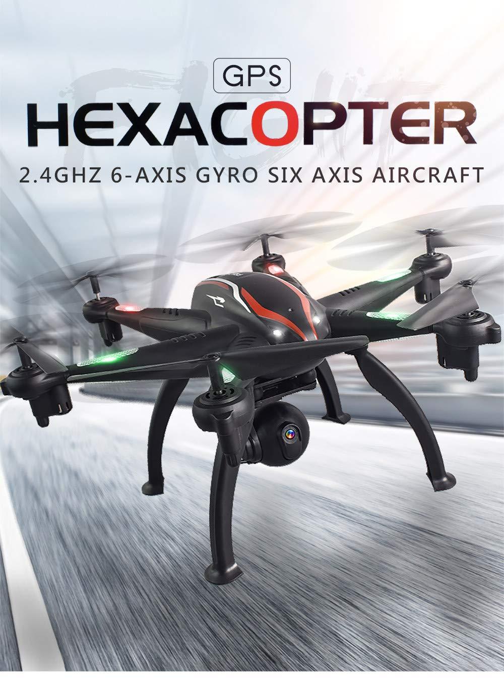 Drone Profesional, lanskrlsp L100 6 Ejes giroscopio 1080p Gran ...