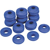 Cogex 11439 - Ojal de lona autoperforante (plástico), 20 unidades