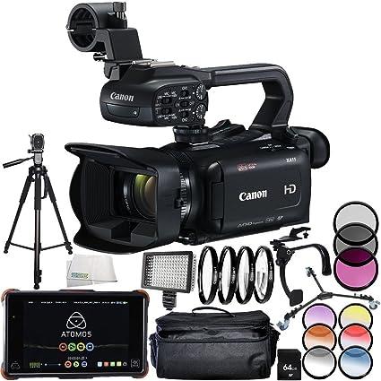 Amazon.com : Canon XA11 Compact Full HD Camcorder + Atomos ...