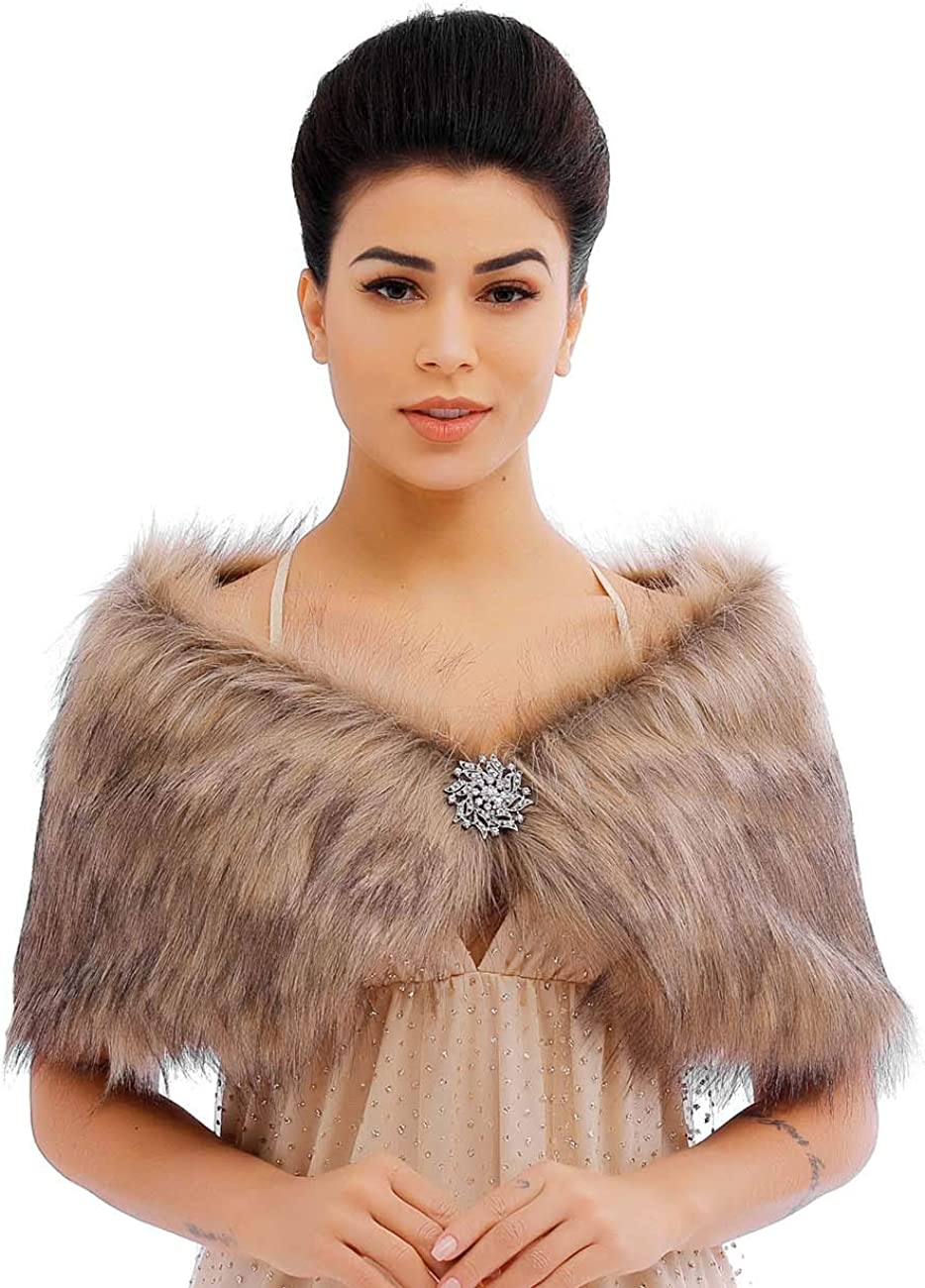 Catery Sleeveless Faux Fur...