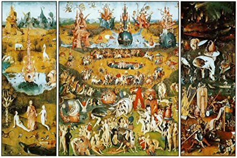 Hieronymus Bosch Garden of Earthly Delights Art Maxi Poster