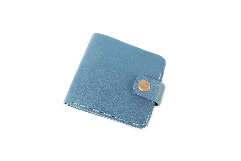 652b32a89635 Amazon.com: InCarne Thin bi-fold leather wallet travel wallet thin ...