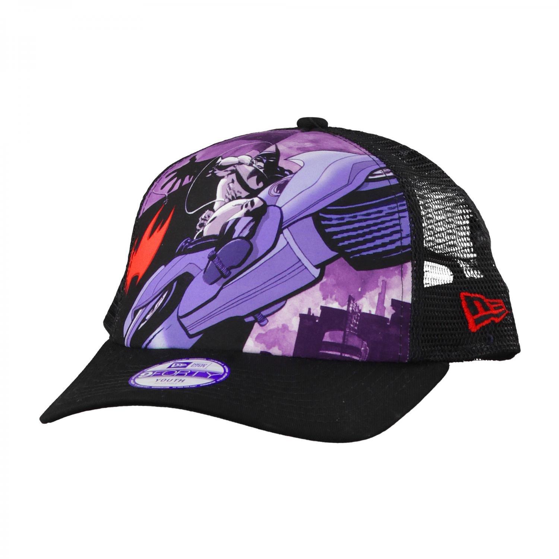 Gorra New Era - Trucker Junior Superheroe Batman negro talla ...