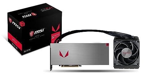 MSI Radeon RX Vega 64 Wave 8G - Tarjeta gráfica Enthusiast (8 GB ...