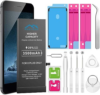 Batería para iPhone 6 Plus 3500mAh de Alta Capacidad, Recambio ...