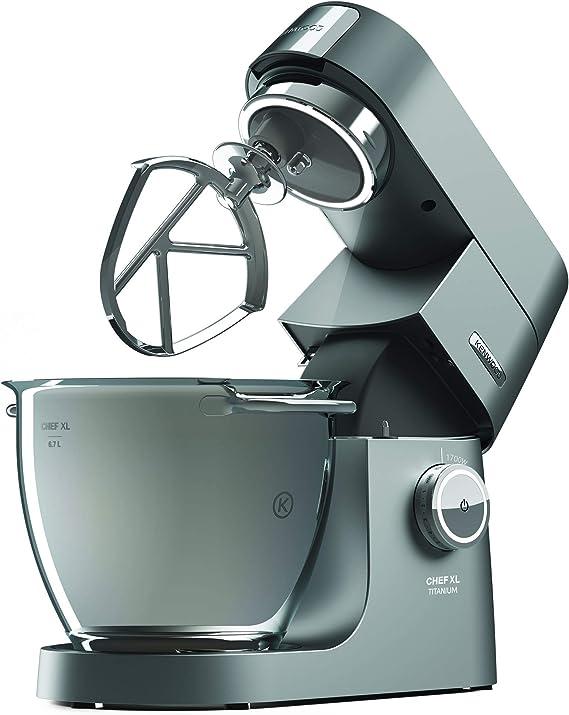 Kenwood Electronics KVL8361S - Robot de cocina (6.7 L, Beige, Rotary, 1.6 L, Stainless steel, Stainless Steel): Amazon.es: Hogar