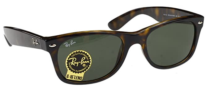 Ray-Ban Wayfarer Gafas de Sol Marco de Tortoise, Lentes en ...
