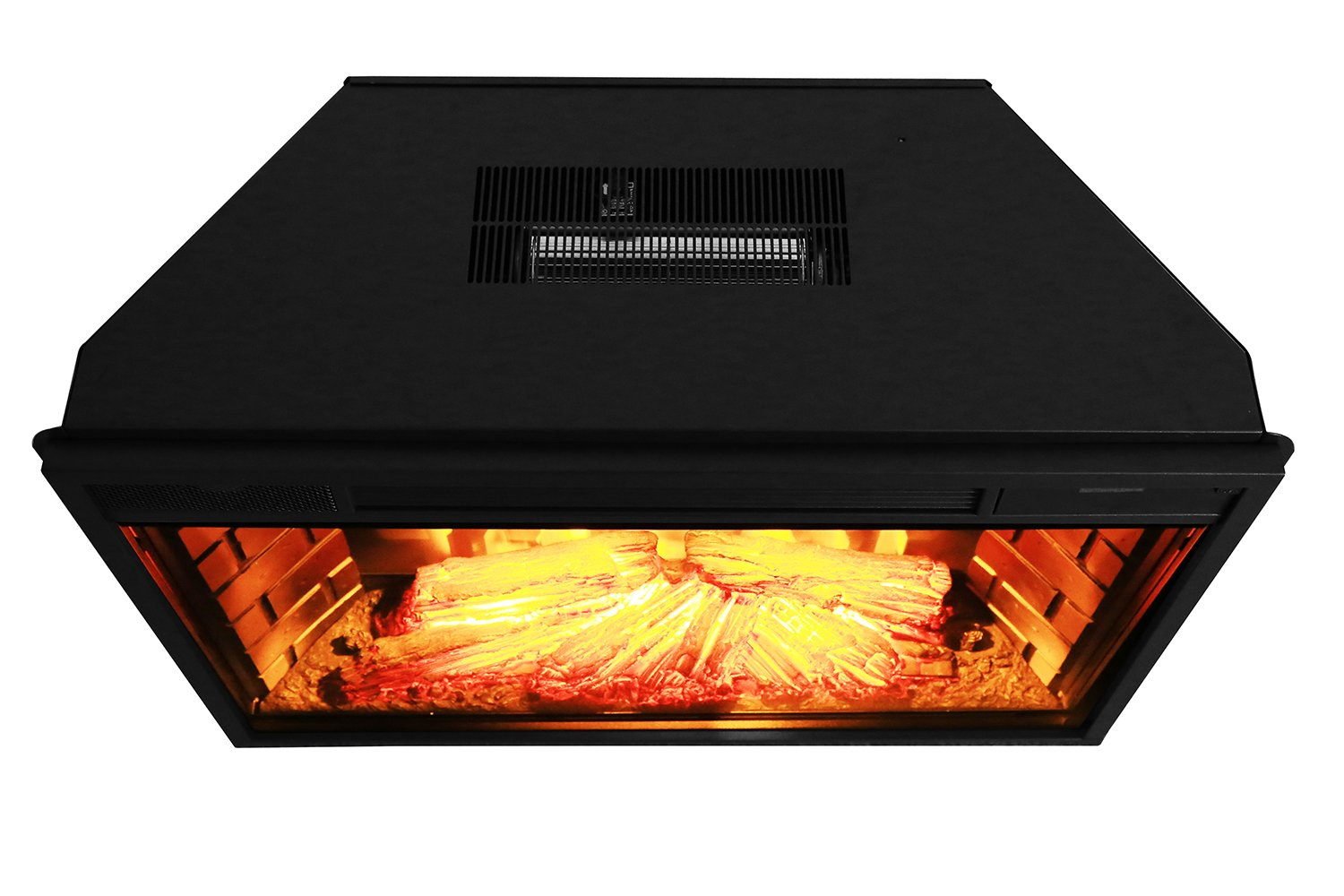 New classic flame electric fireplace inserts make an existing chimney - Amazon Com Akdy 28 Freestanding Electric Fireplace Insert Heater In Black With Tempered Glass And Remote Control Home Kitchen