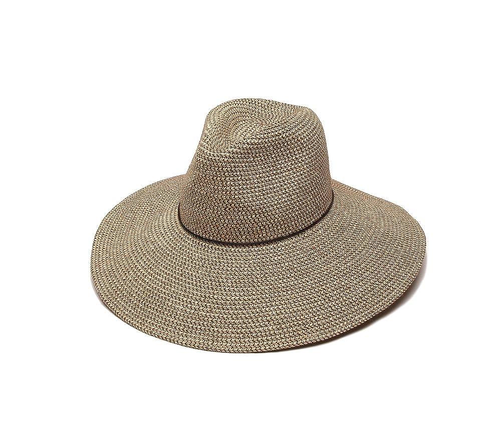 ec7ef63c4b4  ale by alessandra Women s Sancho Adjustable Toyo Hat with Leather Trim
