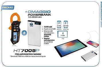 HT7005P Promo - Pinza amperimétrica HT7005 + Powerbank ...