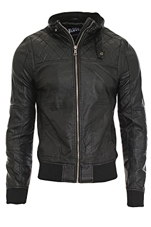 Jacke 3088 Razor Kunstleder Clubwear Bludeise Lederjacke Herren Nz 80OnPkwX