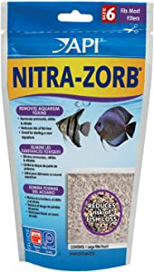 API NITRA-ZORB SIZE 6 Aquarium Canister Filter Filtration Pouch 1-Count Bag, Model:110A