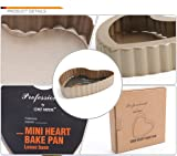 Tart Pans Different Shapes-round and heart
