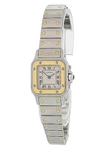 d41b3f0c78fb6 Cartier Santos Galbee 1567 - Reloj de Cuarzo para Mujer (Certificado  prepropietario)