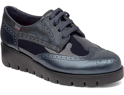 Para Mujer Amazon Cordones De Callaghan Zapatos es 89813 Derby wxgpqp