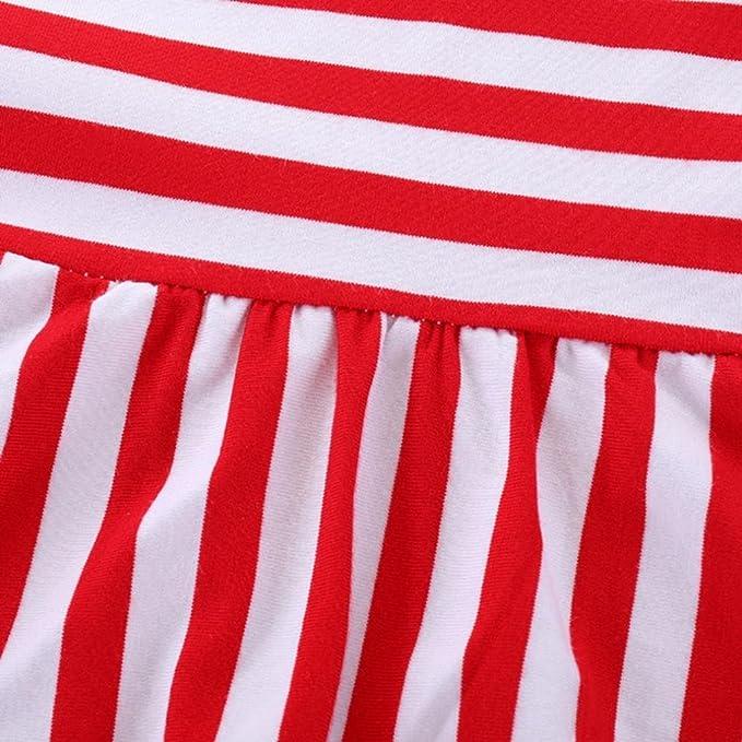 BBsmile 2 piezas bebé niñas ropa conjunto rayas Tops + pantalones cortos de mezclilla trajes ropa: Amazon.es: Ropa y accesorios