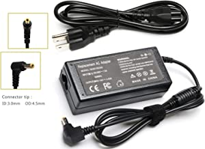 Laptop Charger AC Adapter for Toshiba Satellite C55 C655 C850 C50 L755 C855 L655 L745 P50 C855D C55D S55;Toshiba Portege Z30 Z930 Z830;Satellite Radius 11 14 15 Power Supply Cord -19V/3.34A 65W