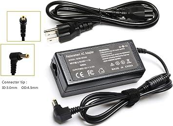 Amazon.com: Cargador de portátil AC adaptador para Toshiba ...