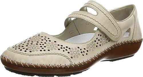 Rieker Womens 44875-80 Ballet Flats