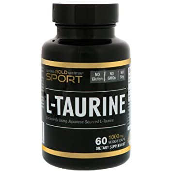 California Gold Nutrition, L-Taurine, Japanese Sourced- AjiPure Amino Acids, 1000