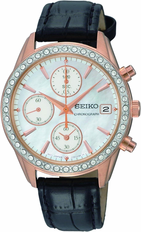Seiko Women s SNDY14 Chronograph Watch