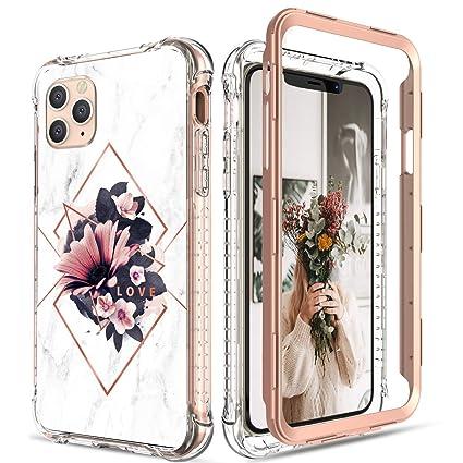Amazon.com: Carcasa para iPhone 11 Pro Max, diseño de flores ...