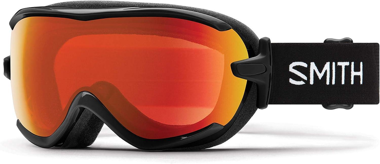 SMITH Virtue SPH–Gafas de esquí para Mujer, Color Negro