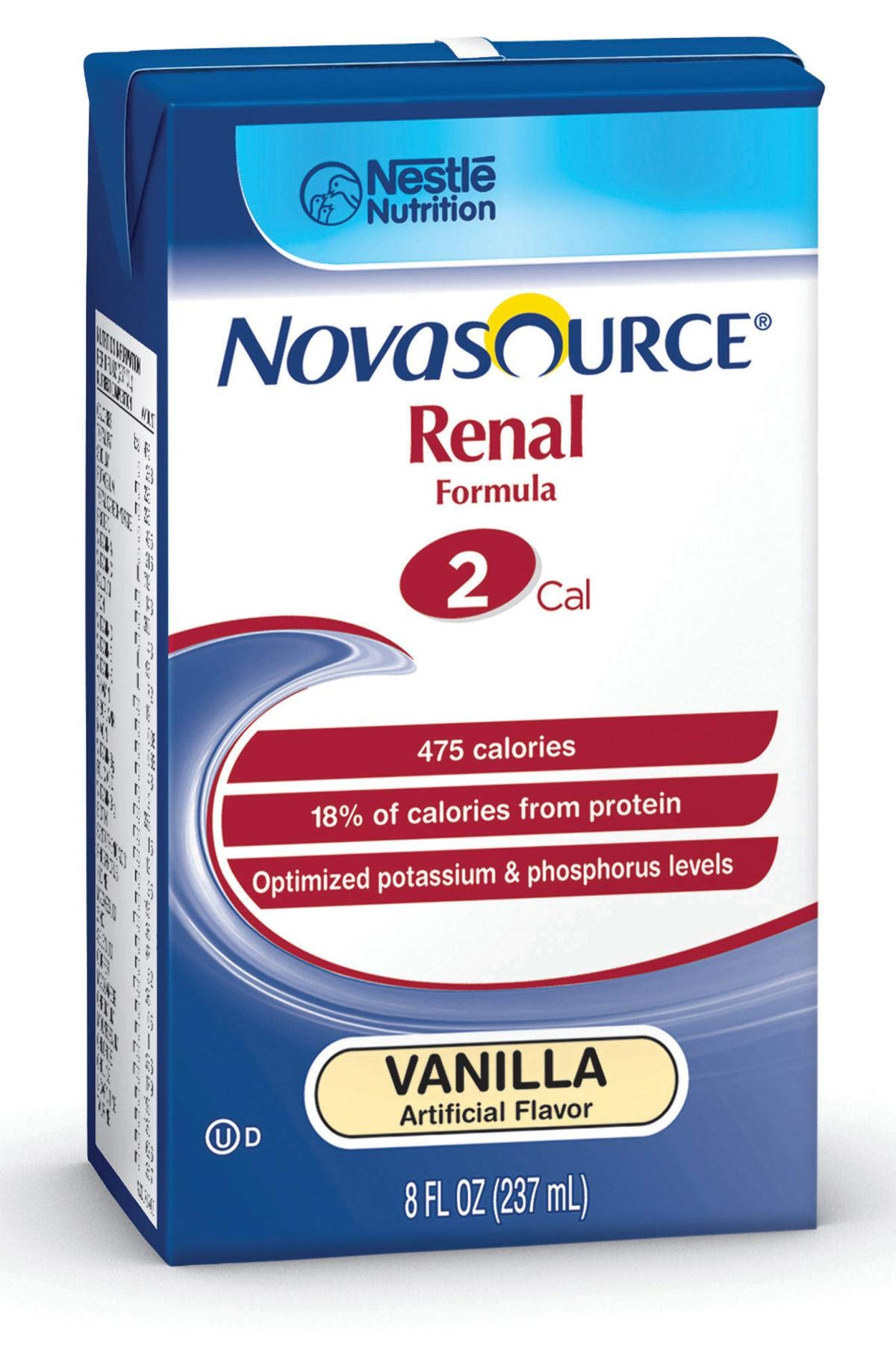 Nestle Clinical Nutrition Novasource Renal Nutritional Supplement - Doy351100, 1 Pound