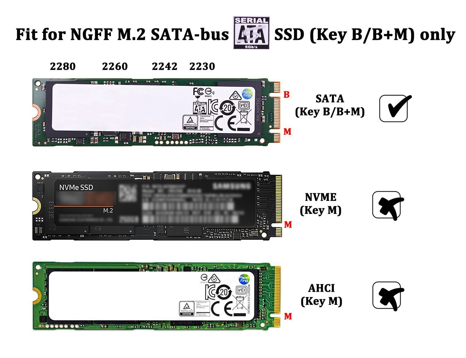 M2 Sata Ssd To Usb 30 External Reader Converter Circuit Diagram Adapter Enclosure With Uasp Support Ngff 2280 2260 2242 2230 Key B M