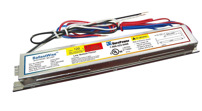 10 Ballastwise DXE1H8U Ballast Operate 1 x 32 Watt T8 4 feet Tubes for ballast replacement by Ballastwise (Image #3)
