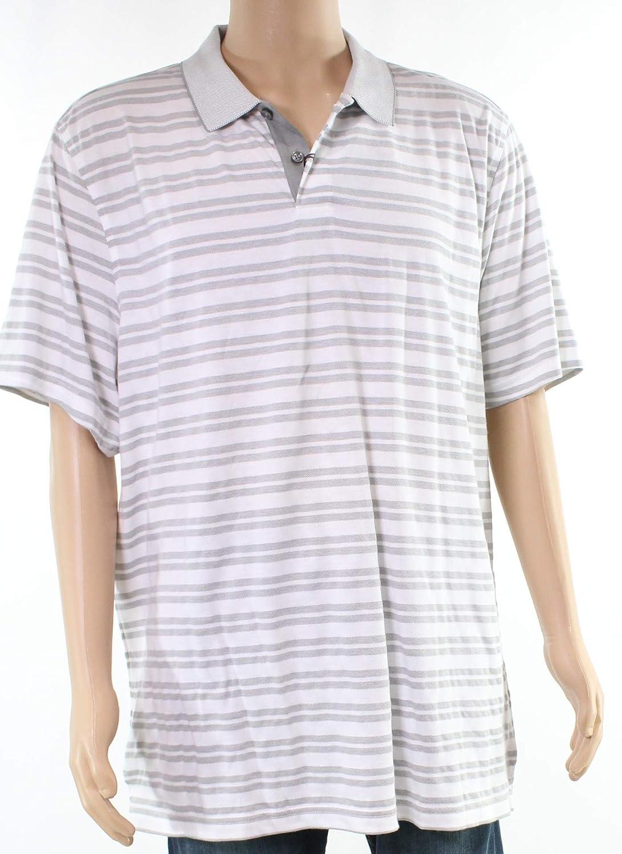 Tasso Elba Mens Supima Blend Striped Polo Shirt At Amazon Mens