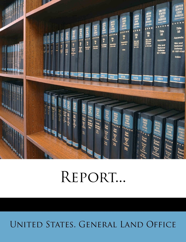 Read Online Report... pdf epub