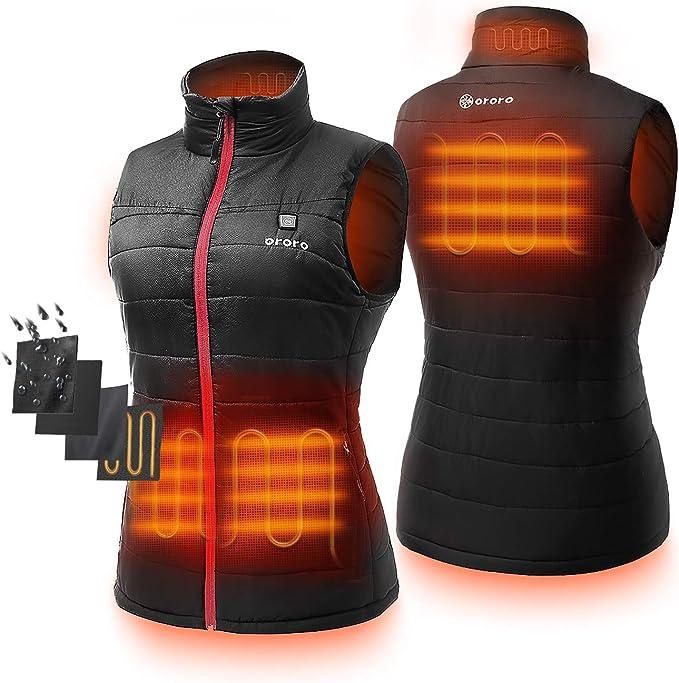 ORORO Women's Lightweight Heated Vest