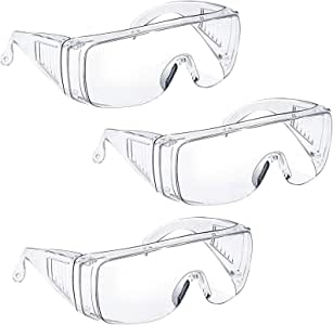 Eye Protection Anti Fog Clear Protective Safety Glasses For Lab Outdoor Work Cy
