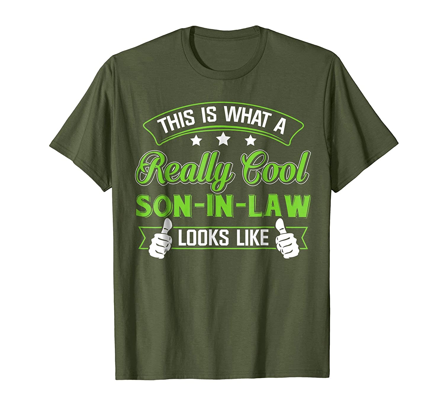 Amazon Meaning T Shirt For Son In Law Best Birthday Gift Clothing
