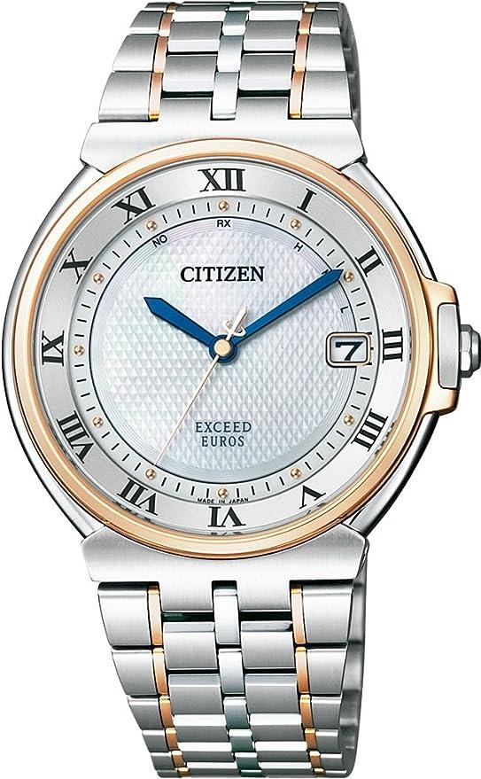 [シチズン] 腕時計 エクシード エコ・ドライブ 電波時計 35周年記念モデル ペアモデル AS7074-57A