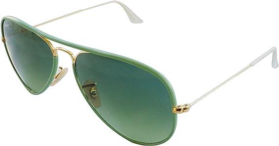 Ray-Ban - Gafas de sol Aviador Aviator Full Color RB3025JM, Gold ...