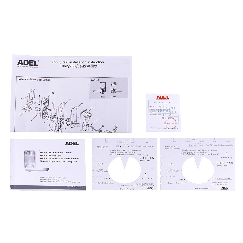 Amazon Adel Keyless Biometric Commercial Fingerprint Keypad