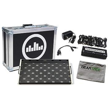 Temple Audio Duo 17 - Pizarra de pedal, diseño vintage, color blanco: Amazon.es: Instrumentos musicales