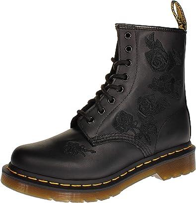 Dr. Martens, Zapatos de escalada Mujer, Negro y negro, 38 EU